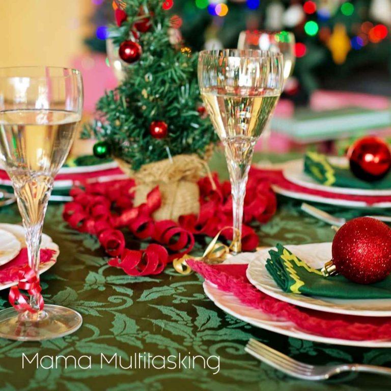 como ahorrar dinero en navidad mesa