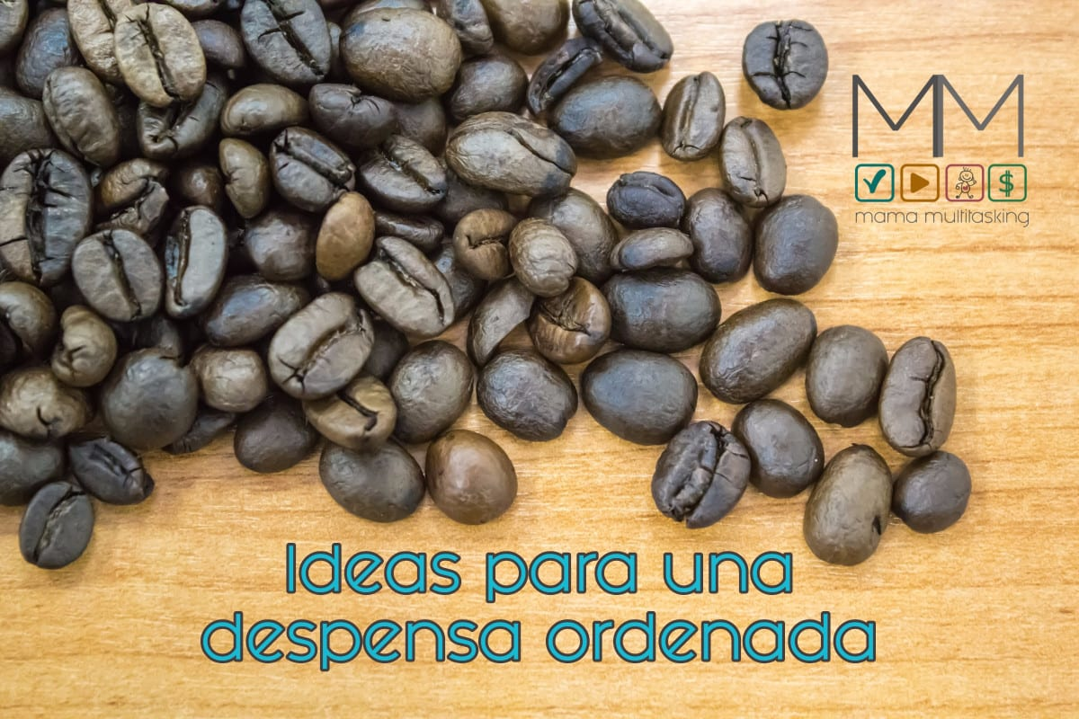 Ideas para una despensa ordenada