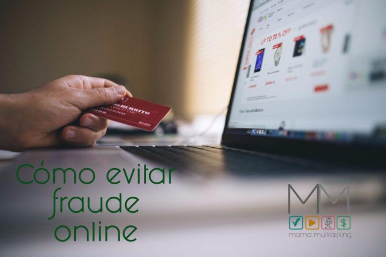Cómo evitar fraude online