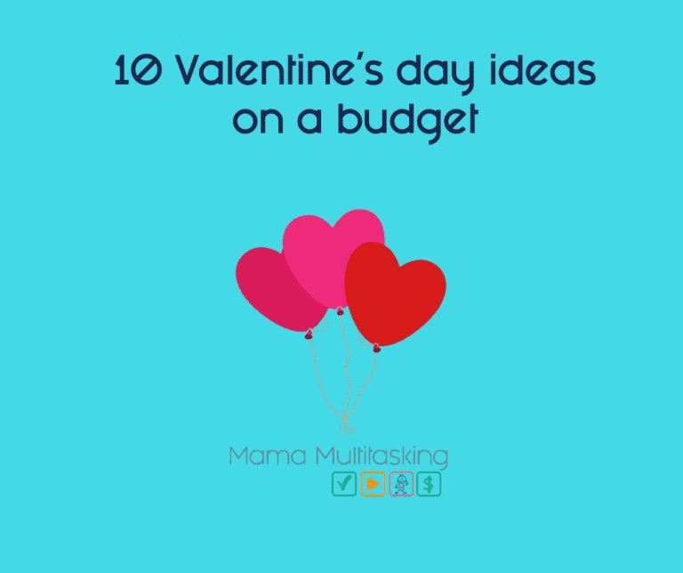 10 Valentine's day ideas on a budget