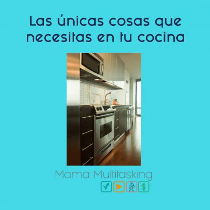 cosas en cocina