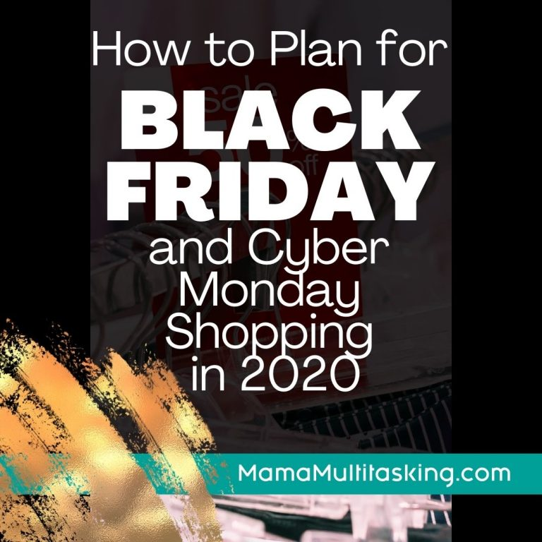 How to Plan for Black Friday and Cyber Monday Shopping in 2020