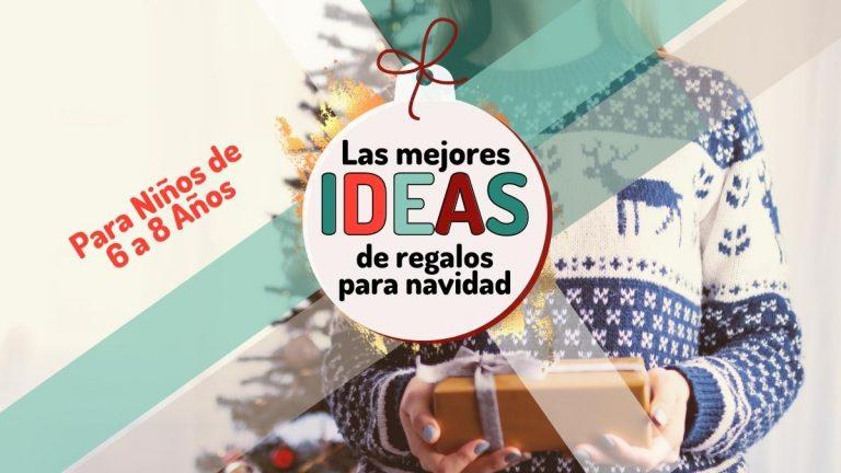 Las mejores ideas de regalos para navidad 2020 (niños 6-8 años)